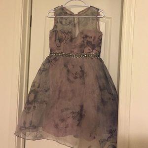Little Mistress Dresses & Skirts - Purple grey dress