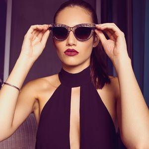 Style Link Miami Accessories - ▫️LAST 1▫️CATEYE CUTOUT METAL FRAME SUNGLASSES