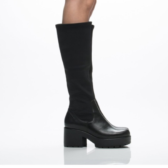 a7fc7544a63 Vagabond Dioon Black Winter Knee High Boots. M 576a18bc13302ad62208ef6d