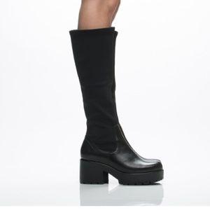 Vagabond Dioon Black Winter Knee High Boots