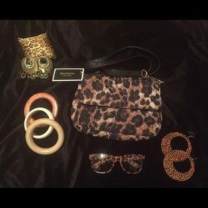 Juicy Couture  Leopard Cross Body Purse