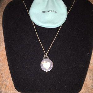 Wkend sale! Genuine TIFFANY&Co Sterling necklace