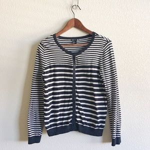 H&M Striped Cardigan