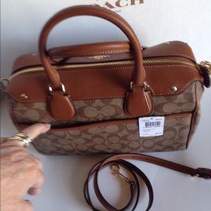 777da68270 Coach Bags - FINAL SALE!❤️NWT Coach Signature Bennett Satchel
