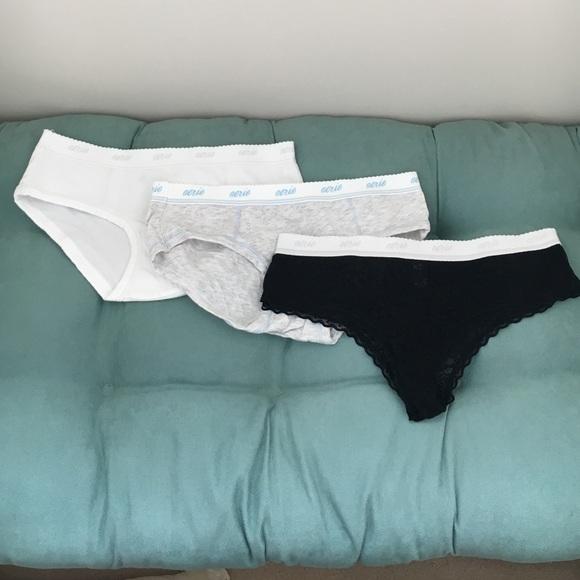 Aerie Intimates Sleepwear Final Sale Underwear Bundle Poshmark