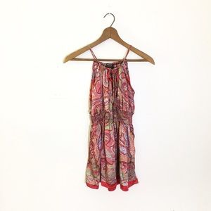 Advance Apparels Tops - Advance Apparels Boho Printed Silk Top
