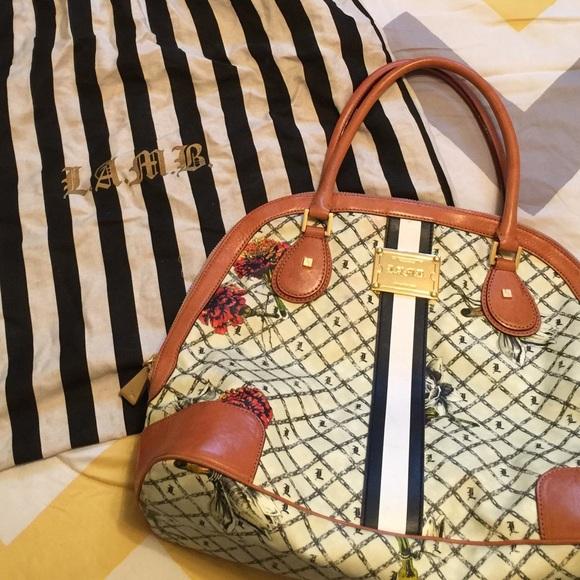 b7890104515f ... large bag. more photos 9081f f6548 L.A.M.B. Marigold bowler ...