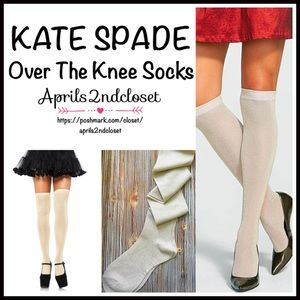 Kate Spade Accessories - KATE SPADE TALL SPARKLE SOCKS