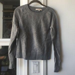 Ann Taylor Loft grey sweater, S