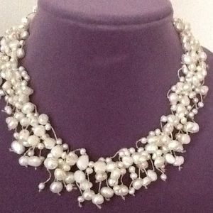 """Jewelry - 18""""Different size fresh water pearls"""
