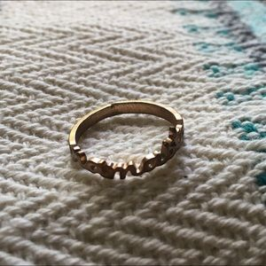Urban Outfitters Jewelry - Namaste Rose Gold Ring