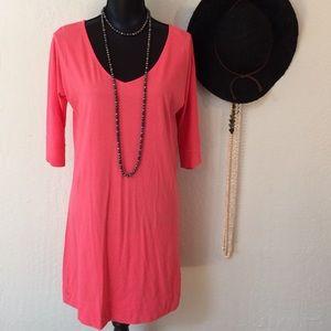Lily Pulitzer tshirt dress with soft pima cotton.