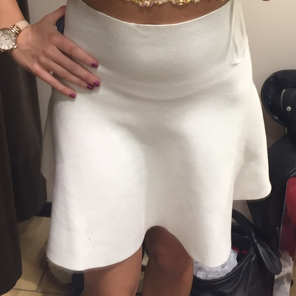 a7ab3033125574 White Knit Skirt | Skirt Direct
