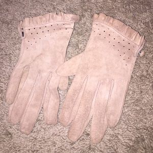 BCBG MAX AZRIA Leather Gloves