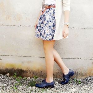 Shoes - Melissa navy oxfords