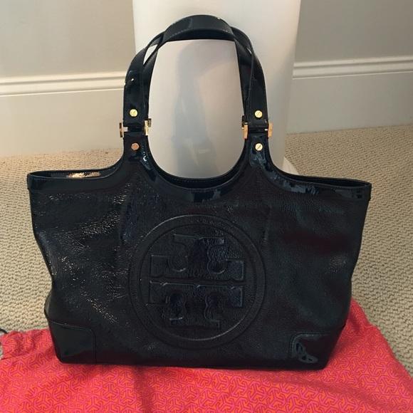 34% off Tory Burch Handbags - Tory Burch black patent leather bag ...