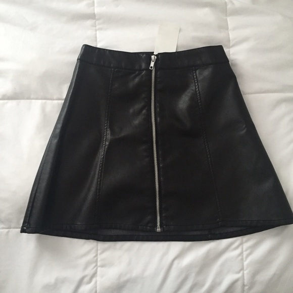 56 h m dresses skirts high waisted faux leather