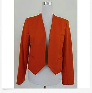 Preloved premise orange blazer size6
