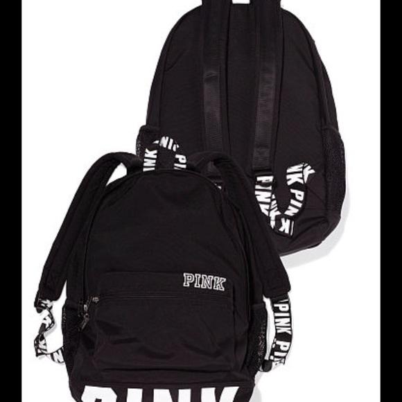 PINK Victoria s Secret Bags   Vs Pink Campus Backpack   Poshmark c9bbb95160