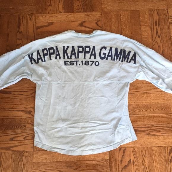 911ee3f7a7c3 Kappa Kappa Gamma Tops - Kappa Kappa Gamma KKG Spirit Jersey