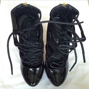 Privileged Shoes Shoes - New Privileged Shoes Drama' Lace Up Stiletto Boots