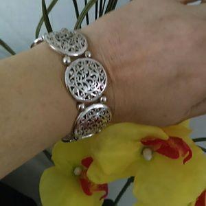 Pewter & mixed metal Bracelet