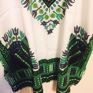 Dashiki Dresses - New Tribal Print Dashiki Dress Top