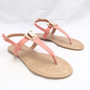 Pierre Dumas Shoes - Pierre Dumas Coral Pink Sandals