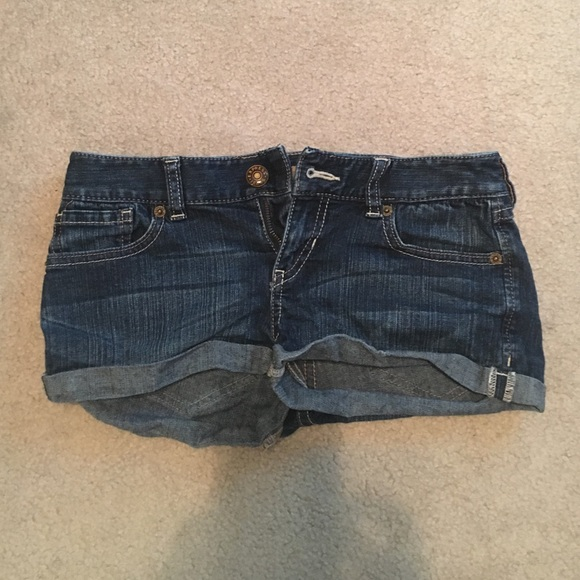 64% off Express Pants - Express Jean Shorts Size 00 from Megan's ...
