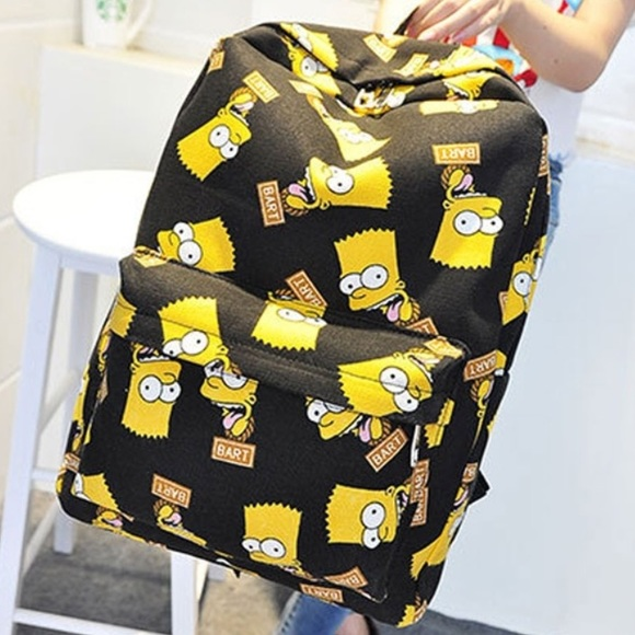 Black Bart Simpson backpack 80923a4a21375