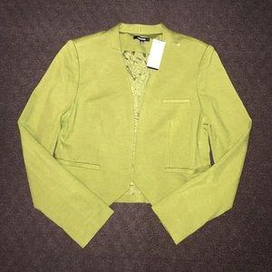 """NWT! Premise """"Eclipse"""" dill green blazer sz 4"""