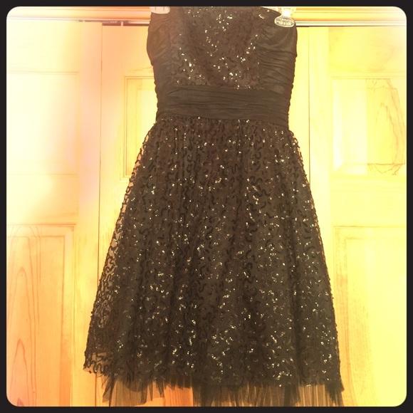 Betsey Johnson Dresses Betsy Johnson Black Sequin