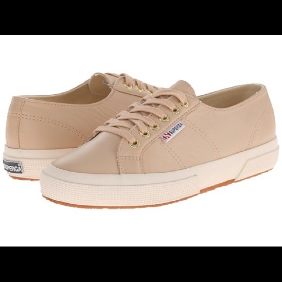 Womens Shoes Superga 2750 Nappaw Nude