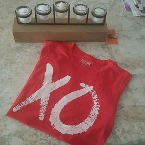 "Salt Lake Clothing Tops - Salt Lake Clothing Co.  ""XO"" Boyfriend Tee"