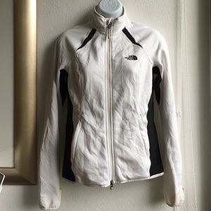North Face Jackets & Blazers - The North Face White Zipup Jacket size Small