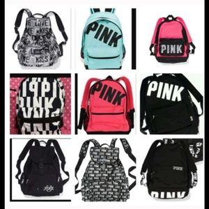 42% off PINK Victoria's Secret Handbags - VS Pink Collegiate ...