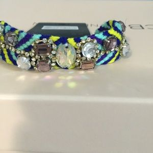 Forever 21 Jewelry - Woven Bracelet with Gem Detail