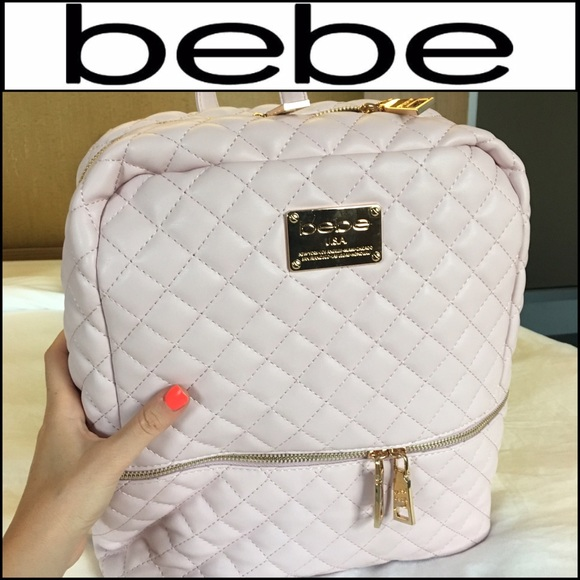 13edfc808e 💕BEBE Baby Pink Danielle Backpack!💕