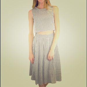 Relished Dresses & Skirts - ✨HP✨ Gingham Skirt Set