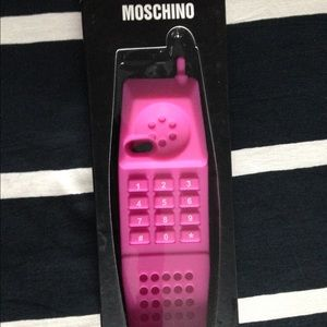 best website e9774 cb845 Pink retro Moschino Dream phone iPhone 5/s/c case