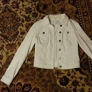 Elle Jackets & Blazers - White denim jacket
