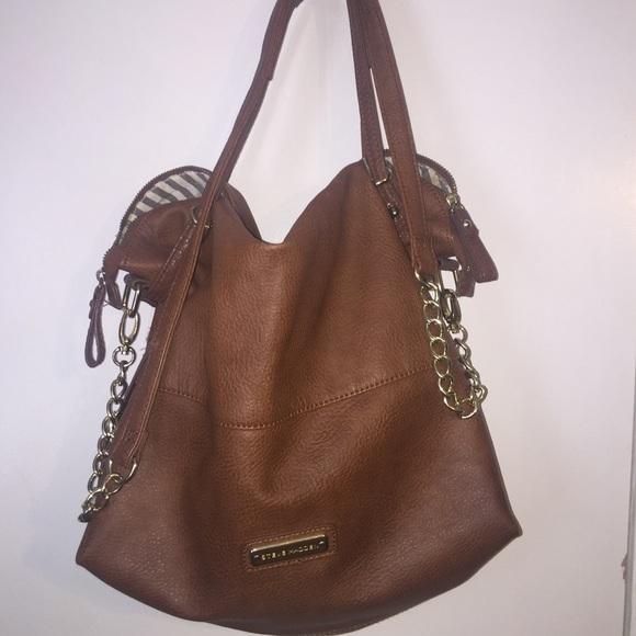 25e8df085d Steve Madden brown leather bag (fake leather). M_576b42b136d5941ffa003ce6