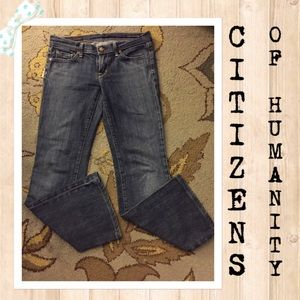 Citizens of humanity denim jeans size 29-29