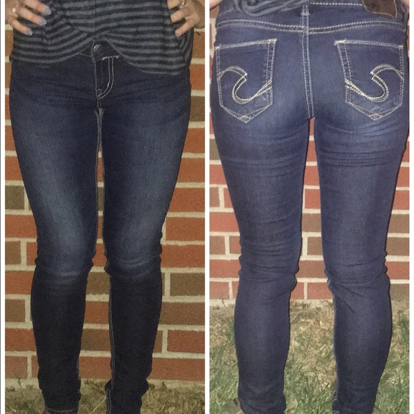 Silver Jeans - Silver jeans suki jeggings 26/31 super cute from