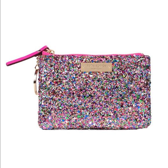 Glitterball coin purse kate spade dd62440e79f9