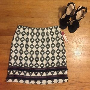 Dresses & Skirts - Tribal inspired mini skirt