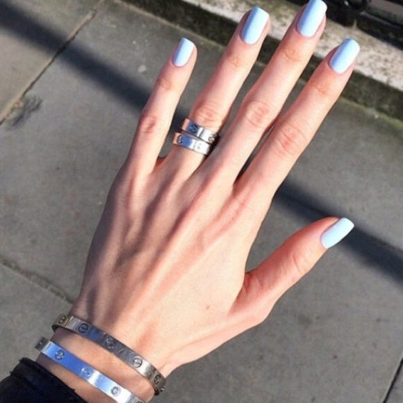 Cartier Size 6 Silver Love Screw Ring from allison👛 top rated