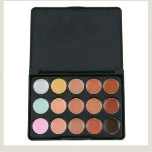 15 Color Face Creamy Concealer Hide Blemish Make-u