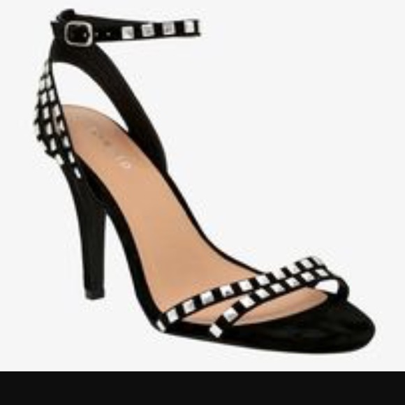17% off torrid Shoes - BRAND NEW STUDDED ANKLE STRAP HEELS WIDE ...