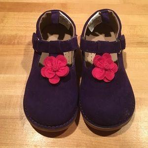 Gymboree Other - Gymboree Purple Toddler Shoes